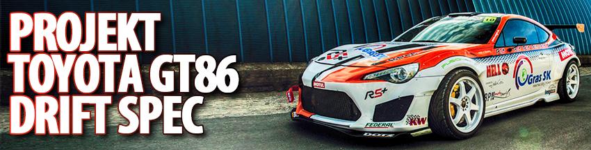 Projekt Toyota GT86 Drift Spec