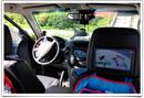 Montáž Mitsubishi Pajero - LCD do hlavových opierok