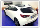 Prevlek strechy do 3M folie - MAZDA 3