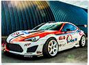 Toyota GT86 s motorom Toyota Supra 2JZ Drift Spec