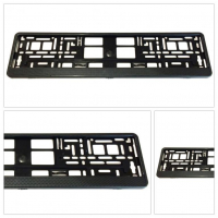 [License Plate Frame - carbon]