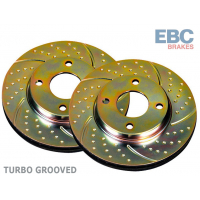 [Brzdové kotúče predné Turbo Groove - MAZDA 6]
