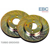 [Brzdové kotúče predné Turbo Groove - MAZDA 323]