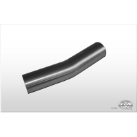 [Nerezová rúra ohnutá 15° nerozšírená d1= 40mm Dĺžka: cca 110mm]