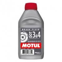 [Brzdová kvapalina MOTUL 0,5L - DOT 3&4]