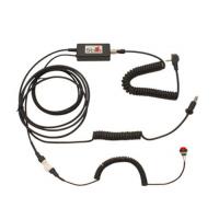 [Sada na prepojenie prilby a komunikačného systému (YD kábel) pre komunikáciu jazdca s teamom v boxe]