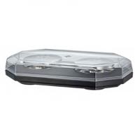 [LED Svetelná Rampa 388mm, Modrá, Magnet, 12-24V, Homologizácia]