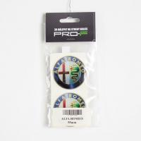 [Nálepka na disky 4ks LOGO - ALFA ROMEO 55mm]
