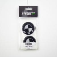 [Nálepka na disky 4ks LOGO - BMW BLACK 55mm]