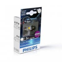 [Autožiarovky PHILIPS Festoon X-tremeVision LED T10, 5x43 6000 K]