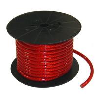 [Kábel napájací, silový 20mm červený, kvalitný]