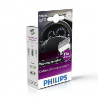 [CANbus control pre LED Žiarovky PHILIPS do osvetlenia ŠPZ/ EVČ pre Volvo V50 r.v.: 2004-2012 (C5W)]