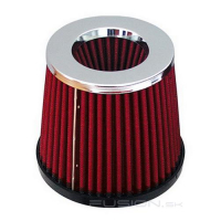 [Air Filter AF-Chrome + 3 Mounting Adapters]