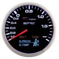 [Budík 4in1 DEPO - Tlak Turba + Voltmeter + Tlak Oleja + Teplota oleja]