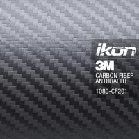 [Super 3M fólia - ANTRACIT Karbon Scotchprint WRAP - CF201]