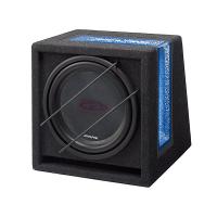 [Alpine SBG-1244BR Subwooferový Box s Band Passom]