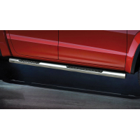 [Nerezové bočné rámy STEELER s plechovými stupňami VW AMAROK [2009-2012] ]