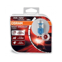 [Autožiarovka OSRAM H4 Night Breaker Laser + 130% Duobox]