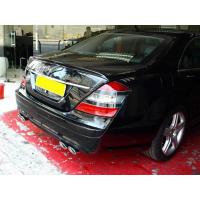 [Zadný spojler (krídlo) Mercedes S W221 06-13]