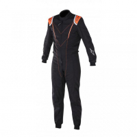 [Kombinéza Alpinestars SUPER KMX-1 - BLACK ORANGE FLUO]