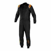 [Kombinéza Alpinestars KMX-9 - BLACK ORANGE FLUO]