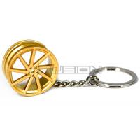 [Prívesok na kľúče Wheel Vossen Gold]