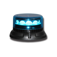 [PROFI LED maják 12-24V 12x3W modrý ECE R65 133x76mm]