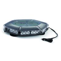[LED Svetelná Rampa 419mm, Modrá, Magnet, 12-24V, Homologizácia ECE R65]