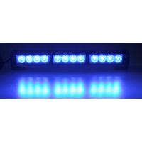 [LED Svetelná Rampa 360mm, 12x LED 3W, Modrá ECE R10 R65]
