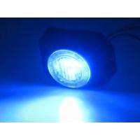 [PROFI výstražné LED svetlo vonkajšie, 12-24V, modrej, ECE R65]