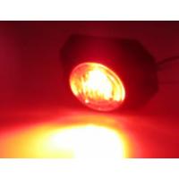 [PROFI výstražné LED svetlo vonkajšie, 12-24V, červenej, ECE R65]