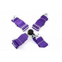 """[Športové pásy 4 bodové   QUICK POINT 3 """"- Purple]"""