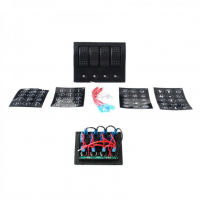 [Spinac 12 / 24V IP68 (ON) -OFFx1, ON-OFFx3, 2B, 5A, 1B, 10A, 15A 1B]