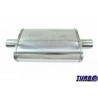 "[Centrálny tlmič TurboWorks LT 304SS Center (2,5"") Center (2,5"")]"
