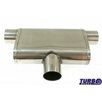 """[Centrálny tlmič Zadný TurboWorks LT 304SS Center (2,5"""") Zadný (2,5"""") L]"""
