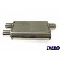 """[Centrálny tlmič TurboWorks LT 304SS Zadný Bočný (2,5"""") Zadný (2,5"""")]"""