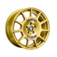 [SPARCO Terra RG RACE GOLD BLUE LETTERING]