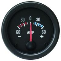 [CLOCK AUTO GAGE TRUCK GAUGE 52 mm - ampérmeter -60-60A]