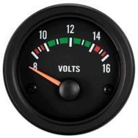 [CLOCK AUTO GAGE TRUCK GAUGE 52 mm - VOLT 8-16V]