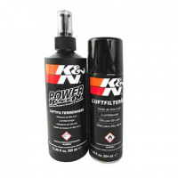 [Čistiaca sada K&N pre čistenie a ošetrovanie športových vzduchových filtrov]