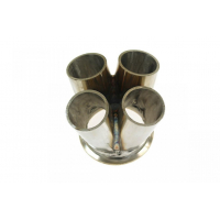 "[Exhaust manifold flange 4-1 connector 4-1 3"" V-Band]"