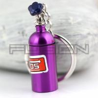 [Prívesok na kľúče Nos Fľaša (Purple)]