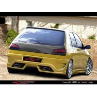 [Zadný nárazník Peugeot 306, kroku 1 a 2 a 3, hatchback]