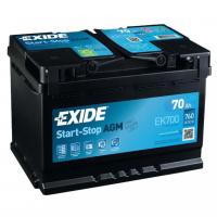 [Autobatéria EXIDE AGM AUDI A3 SPORTBACK (8VA) 2.0 TDI, ( 09.2012  --->  )]