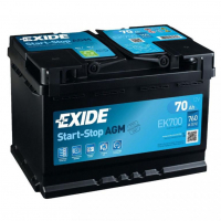 [Autobatéria EXIDE AGM AUDI A5 (8T3) 1.8 TFSI (118kW), ( 05.2009  --->  )]