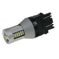 [LED T20 (3157) biela, 12-24V, 30LED / 4014SMD]