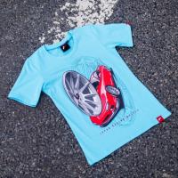[Dámske Tričko JR-Wheels JR-11 Turquoise]