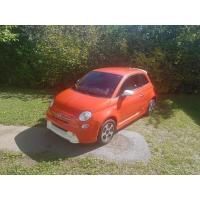 [Elektromobil Fiat 500e Oranžový 2014 #786]