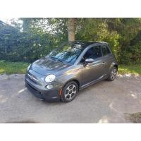 [Elektromobil Fiat 500e Sivý 2014 #444]