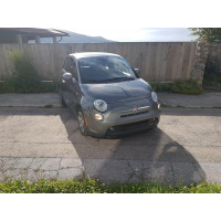[Elektromobil Fiat 500e Sivý 2013 #822]